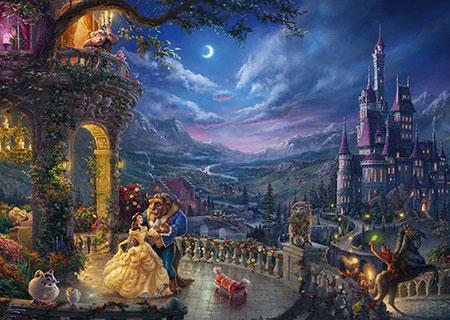 Die Schöne und das Biest - Tanz im Mondlicht