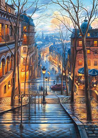 Frühlingsmorgen in Montmartre