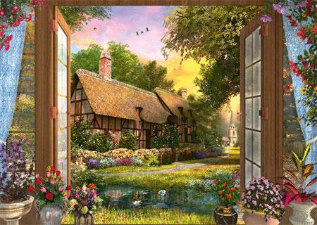 Schmidt Spiele 59591 Blick Auf Das Cottage
