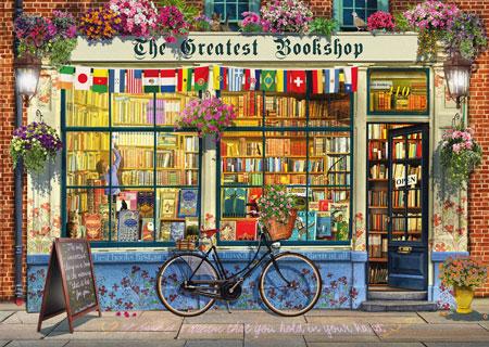 Verträumter Buchladen
