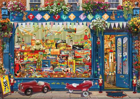 Bunter Spielzeugladen