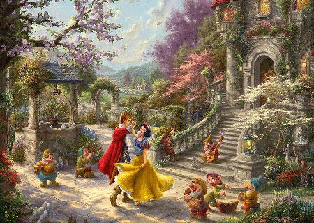Disney Schneewittchen - Tanz mit dem Prinzen