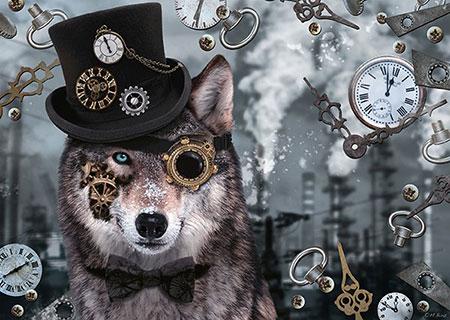 steampunk-wolf