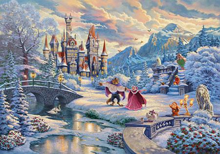 Disney - Die Schöne und das Biest - Zauberhafter Winterabend
