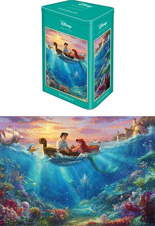 Kinkade - Disney Arielle  in schöner Metalldose