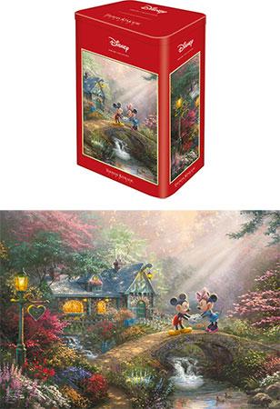 Kinkade - Disney Mickey & Minnie in schöner Metalldose