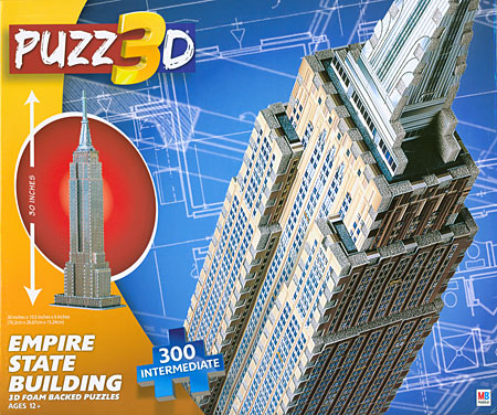 3D-Puzzle - Empire State Building