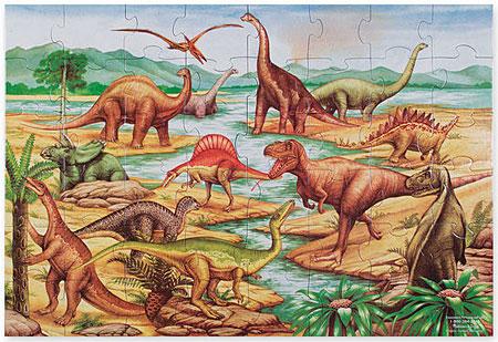 bodenpuzzle-dinosaurier