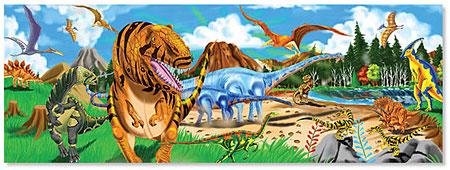 Bodenpuzzle - Land der Dinosaurier
