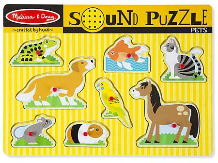 Sound Puzzle - Niedliche Tiere