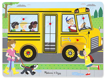 Sound Puzzle - Schulbus