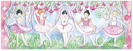 Bodenpuzzle - Bella Ballerina