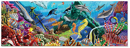 Bodenpuzzle - Unterwasseroase