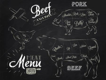 Kleine Fleischkunde