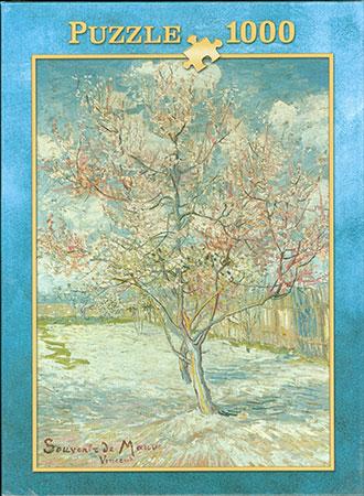 Blühende Pfirsichbäume, Van Gogh