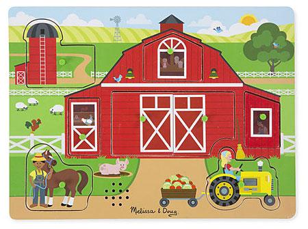 Sound Puzzle - Arbeit auf dem Bauernhof