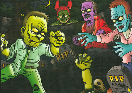 Angriff der Zombies
