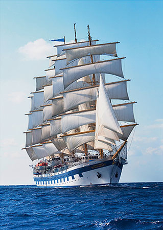 Segelschiff - Royal Clipper
