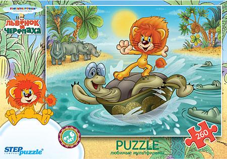 Der Löwe und die Schildkröte - Surfen auf dem Rücken