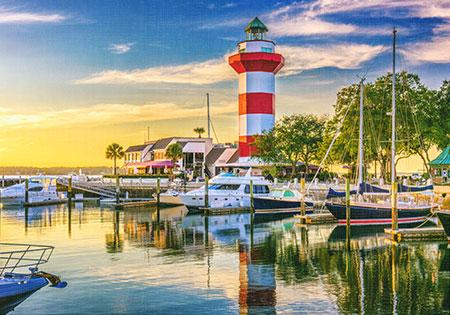 Harbour Town Leuchtturm, South Carolina