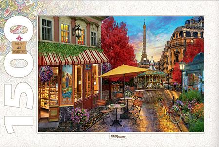 Ein Sommerabend im Paris