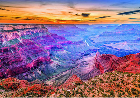Puzzle Bunter Grand Canyon