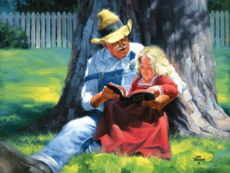opa-liest-aus-bibel-vor