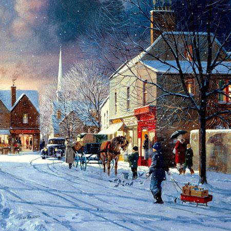 Einkaufen für Weihnachten