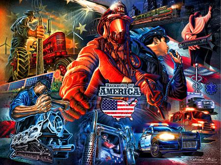 Amerikas Rückgrat
