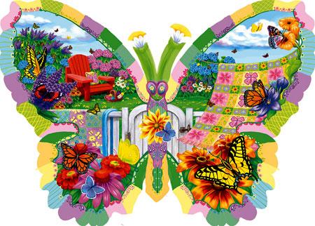 Sommerliche Schmetterlinge