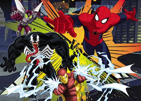Der Ultimative Spiderman - Angriff des Spinnenmanns
