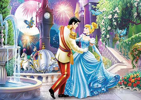 Disney Prinzessinnen - Der Tanz im Mondschein