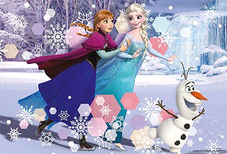 Die Eiskönigin - Eislaufen mit Olaf