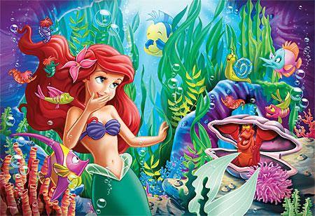 Arielle die Meerjungfrau - Versteckspiel