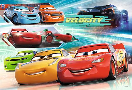 trefl puzzle 16337 disney pixar cars helden der rennstrecke. Black Bedroom Furniture Sets. Home Design Ideas