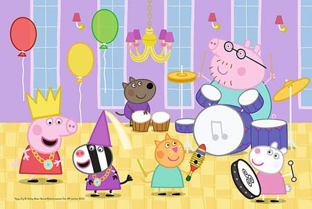 Peppa Pig - Auf dem Ball