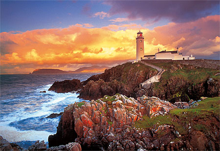 trefl puzzle 26053 leuchtturm in irland. Black Bedroom Furniture Sets. Home Design Ideas