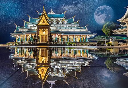 Wat Pa Phu Kon in Thailand
