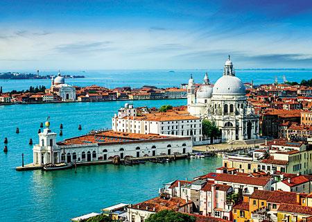 Barocke Kirche in Venedig