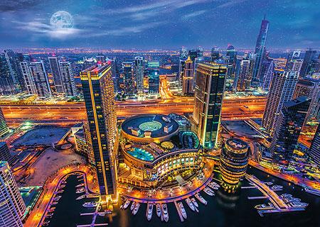 Lichter von Dubai