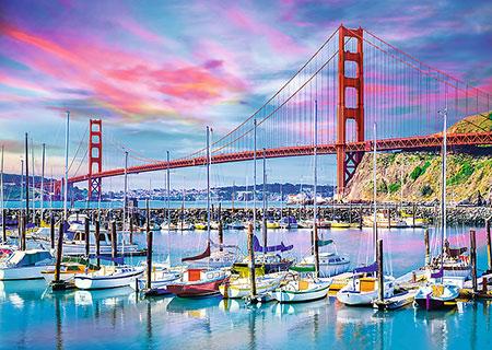 golden-gate-bridge-san-francisco, 14.59 EUR @ puzzle