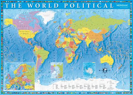 politische-weltkarte
