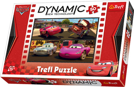 Dynamic Puzzle - Cars 2