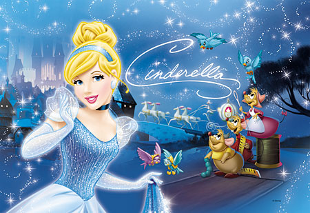 Disney Prinzessinnen - Aschenputtel - Auf dem Weg zum Ball