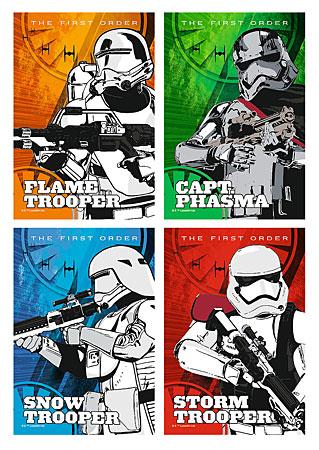 Star Wars Episode VII - Varianten der Sturmtruppen